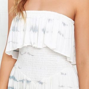 e3b28622ca68 Blue Life Pants - Blue Life Festival Romper in White and Grey
